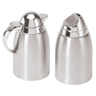 Oggi Corporation 7117 Stainless Steel Sugar & Creamer Set 2-count