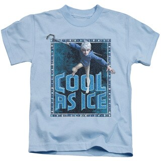 Rise Of The Guardians/Jack Frost Short Sleeve Juvenile Graphic T-Shirt in Light Blue