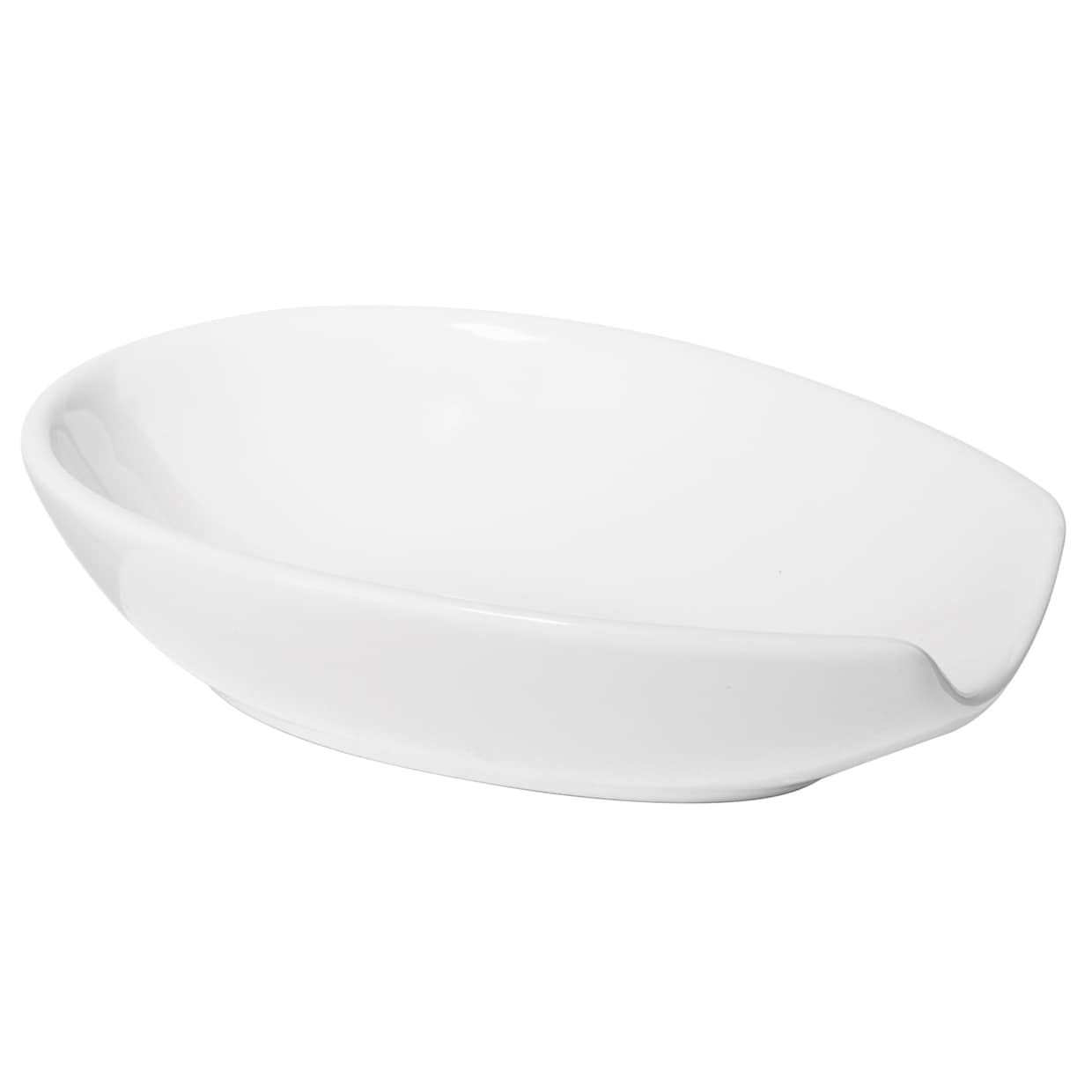 Oggi Corporation White Spooner Spoon Rest (Spooner Spoon ...