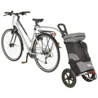 Ventura Shop and Ride Black Nylon Luggage Trailer and Cart