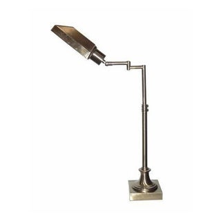 Victoria Goldtone Swing Arm Task Lamp