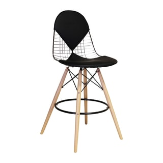 Eames Wire Bikini Pad Style Counter Stool
