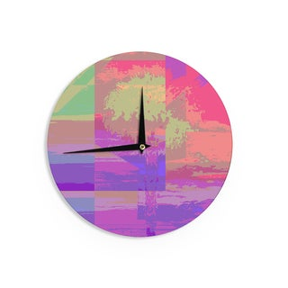 KESS InHouse Vasare Nar 'Unicorn' Wall Clock