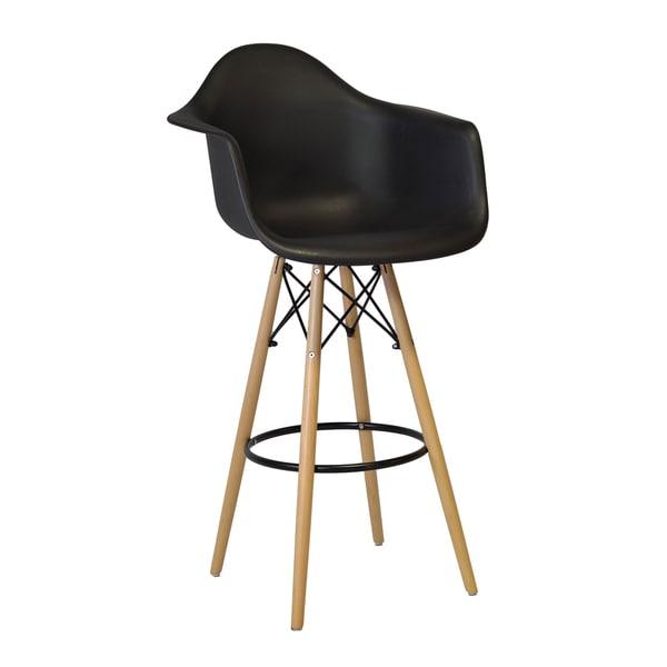 Handmade Mid Century Modern 30-inch Bar Stool Chair (China)
