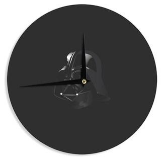 KESS InHouse Nick Atkinson 'The Dark Side' Fantasy Pop Art Wall Clock
