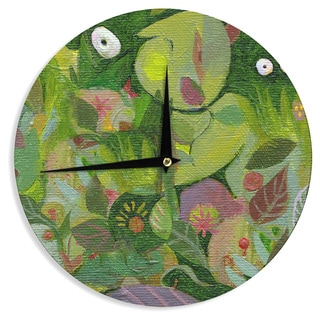KESS InHouse Marianna Tankelevich 'Jungle' Wall Clock