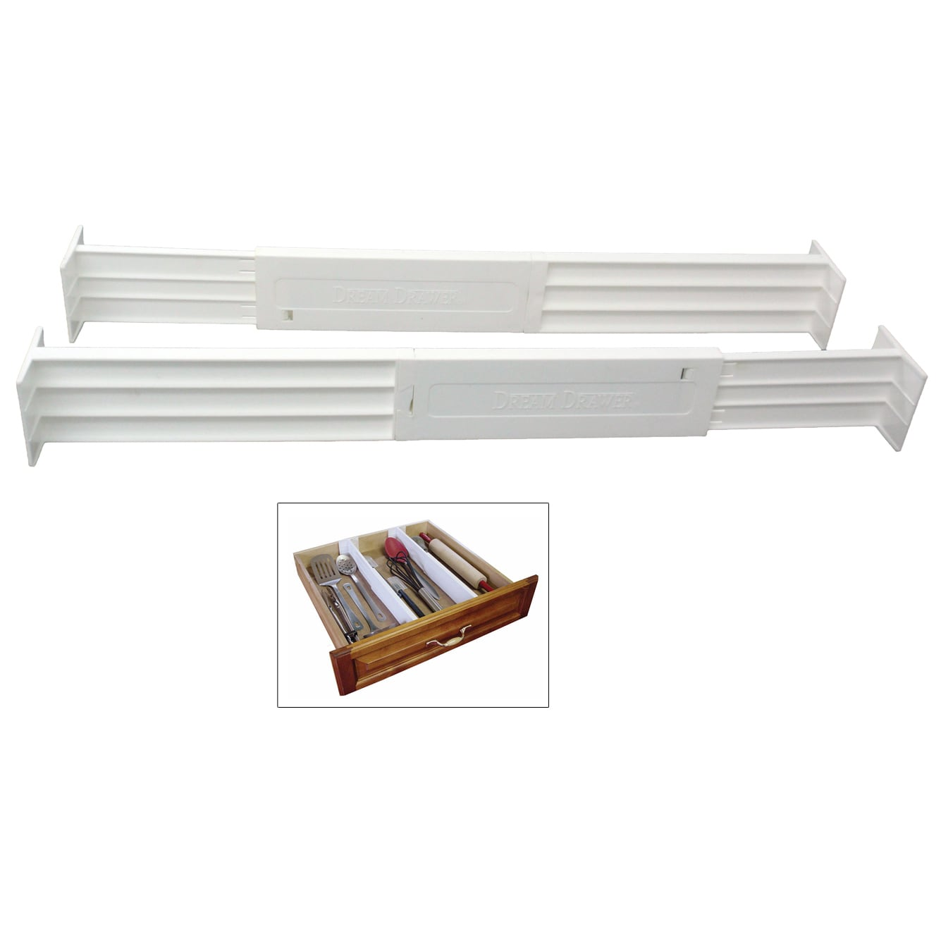 """DIAL Industries B1601 2.5"""" Spring Loaded Drawer Dividers ..."""