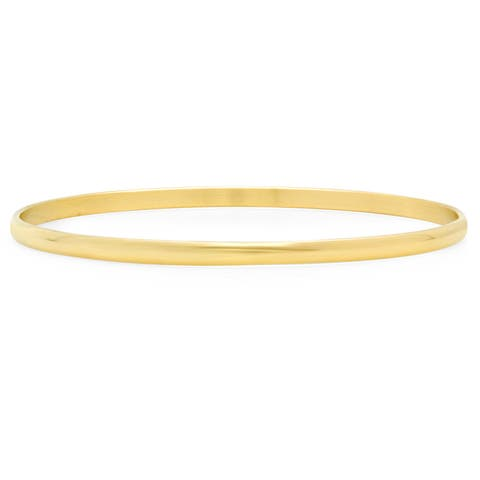 Piatella Women's Gold Tone Stainless Steel Bangle in 2 Colors