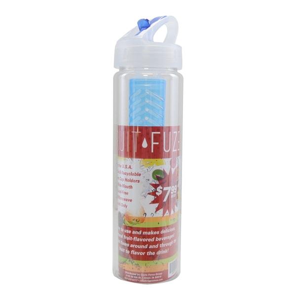 Fruit Fuze Clear Plastic Water Bottle