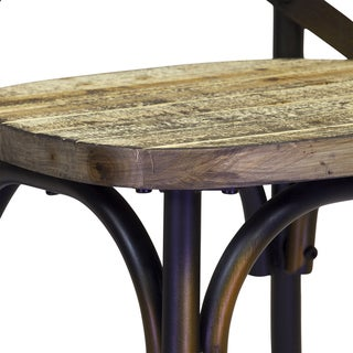 Rustic Reclaimed Crossback Dining Chair (China)