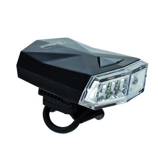M-Wave Apollo 4.3 Black Plastic LED Headlight