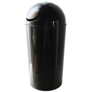 Dial Industries E2056KM 56 Quart Metallic Black Swing Bin