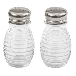 TCP Tablecraft HBH2C 2 Oz Beehive Salt & Pepper Shakers