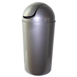 Dial Industries E2056SM 56 Quart Silver Swing Bin