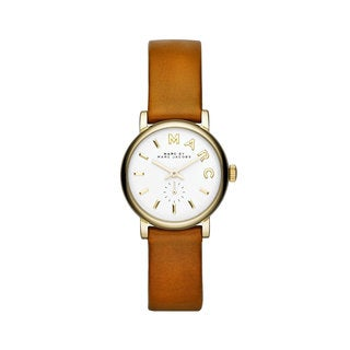 Marc Jacobs Women's MBM1317 Baker Mini White Dial Watch