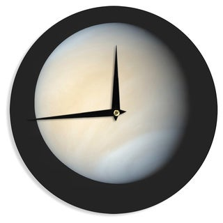 KESS InHouse Alias 'Venus' Beige Nature Wall Clock