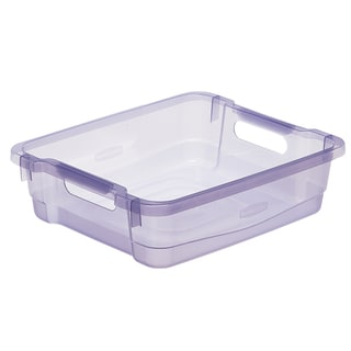 Rubbermaid 1821706 30 Quart Small Blazer Blue Organizing Tray