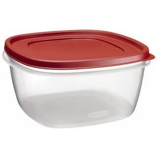 Rubbermaid 1777161 14 Cup Easy Find Lid Square Food Storage Container