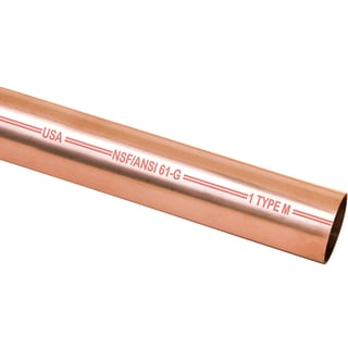 "Streamline MH12010 1-1/4"" X 10' Copper Water Pipe"
