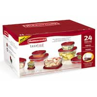 Rubbermaid 24-piece Easy Find Lids Storage Set