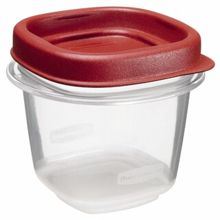 Rubbermaid 1/2 Cup Square Food Storage Containers