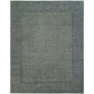 Overdyed Feroz Grey Wool Rug (8'10 x 11'7)