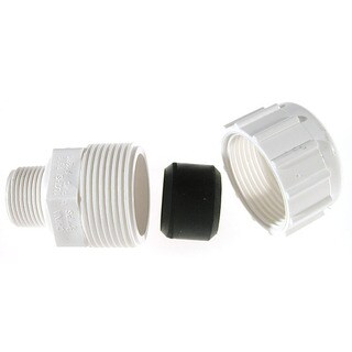 """B And K Industries 161-104 3/4"""" PVC Compression Male Adapters"""