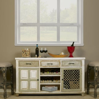 Hillsdale Furniture LaRose 2-Door Buffet with Wine Rack