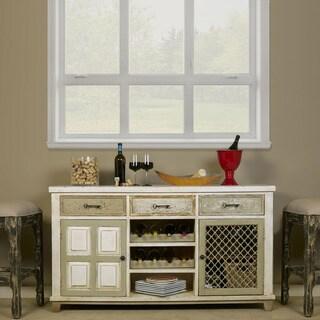 Hillsdale Furniture LaRose 2-Door Buffet with Wine Rack
