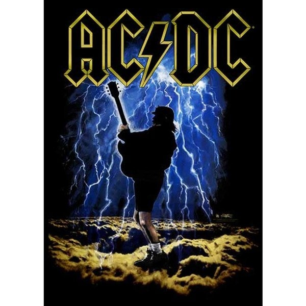 Stephen Fishwick AC/DC 'Highway to Hell' Canvas Wall Art