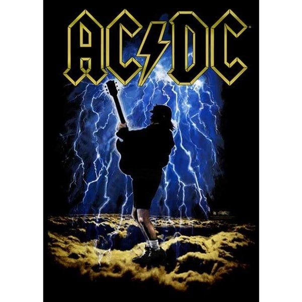 07af1a4561d Shop Stephen Fishwick AC/DC 'Highway to Hell' Canvas Wall Art - Free  Shipping Today - Overstock - 12598098