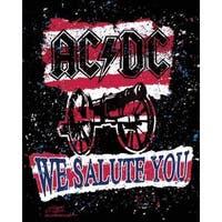 Stephen Fishwick AC/DC 'We Salute You Stripe' Canvas Wall Art - Multi