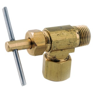 "Amc 759103-0404 1/2"" X 1/4"" Brass Needle Valve"