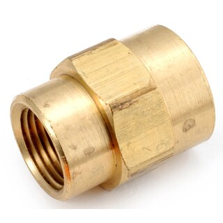 """Amc 756119-0402 1/4"""" X 1/8"""" Low Lead Brass Reducing Coupling"""