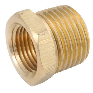 "Amc 756110-0802 1/2"" X 1/8"" Low Lead Brass Hex Pipe Bushing"