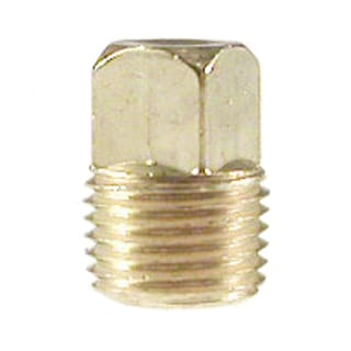 Amc 756109-08 1/2 inches Low Lead Brass Square Head Pipe Plug