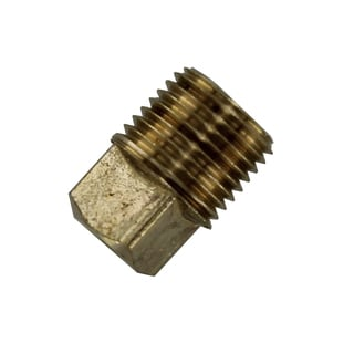 "Amc 756109-02 1/8"" Low Lead Brass Pipe Plug"