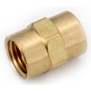 """Amc 756103-06 3/8"""" Low Lead Brass Pipe Coupling"""