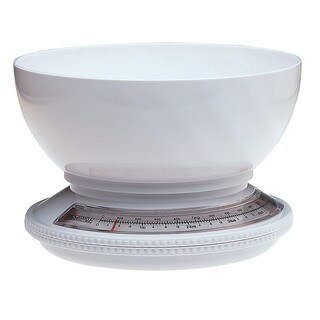 Progressive KT1205 5 Lb Kitchen Scale With Removable Bowl