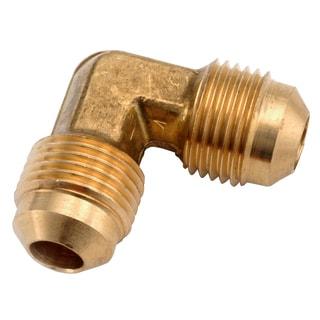 "Amc 754055-06 3/8"" Low Lead Brass Flare Elbow"