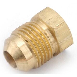 "Amc 754039-06 3/8"" Low Lead Brass Flare Plug"