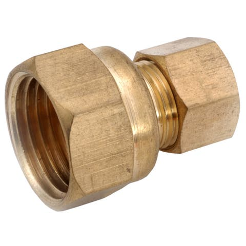 "Amc 750097-0604 3/8"" X 1/4"" Brass Adapter"