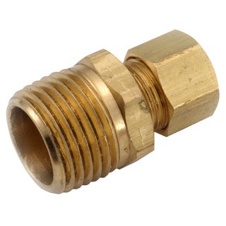 "Amc 750068-1412 7/8"" X 3/4"" Brass Low Lead Compression Fitting Connector"
