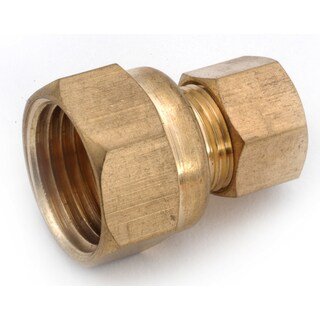 "Amc 750066-0408 1/4"" X 1/2"" Brass Coupling"