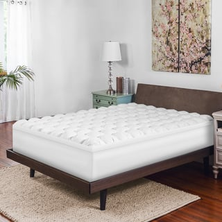 sweet home design mattress pads. SwissLux Hand Tufted 4 inch Down Alternative and Memory Foam Baffled Mattress  Topper Fiber Beds For Less Overstock com