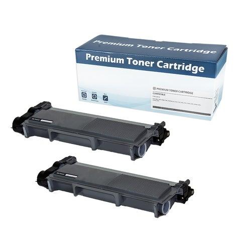 Brother TN660 Compatible Black Toner Cartridge (Set of 2)