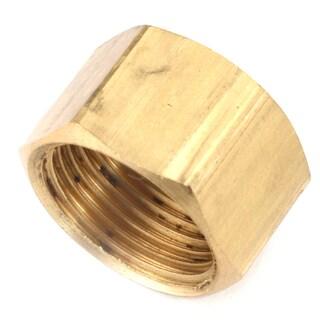 "Amc 730081-04 1/4"" Low Lead Brass Compression Cap"