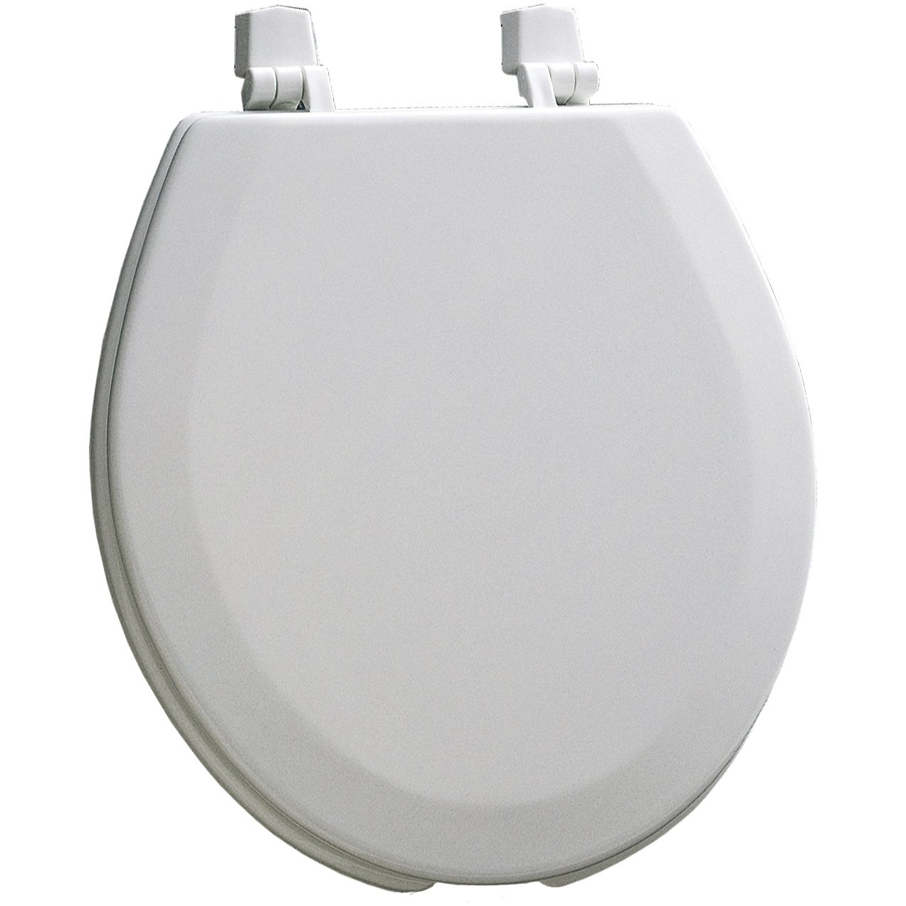 Mayfair 440-000 White Commercial Toilet Seat With Cover (...
