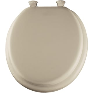 Mayfair 13EC006 Bone Deluxe Soft Toilet Seat