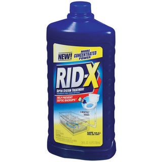 Rid X 83383 24OZ 24 Oz Rid-X Septic System Treatment